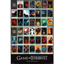 "Poster ""Game of Thrones"""
