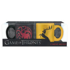 Set de 2 mini-tasses Game of Thrones -
