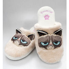 Chaussons Grumpy Cat