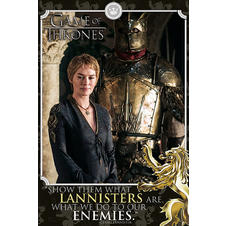 Poster Game of Thrones Cersei -