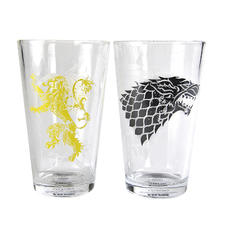 Set de 2 Verres Game of Thrones -