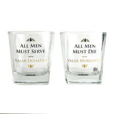 Set de 2 Verres à whiskey Game of Thrones -