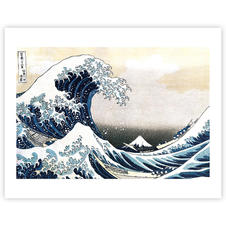 Impression d'art Hokusai -