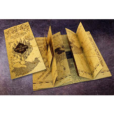 Réplique de la Carte du Maraudeur Harry Potter - The Marauders Map