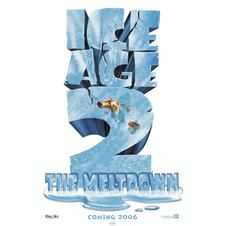 Poster ICE AGE 2 (l Age de Glace) THE MELTDOWN