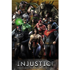 "Poster Injustice ""Gods Among Us"""