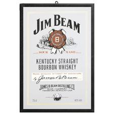 JIM BEAM MIROIR