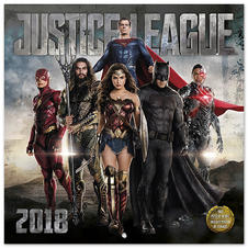 Calendrier 2018 Justice League