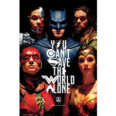 Poster Justice League -