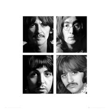 The Beatles imprime d'un oeuvre d'art
