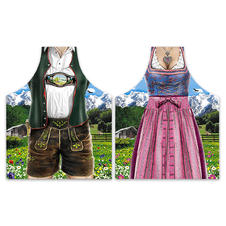 Ensemble de tabliers Dirndl & Lederhose