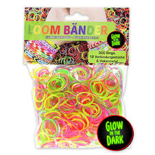 Ensemble Loom Bands phosphorescents