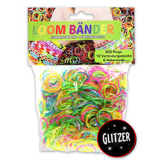 Ensemble Loom Bands Glitter mix