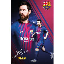 Poster Lionel Messi Collage -