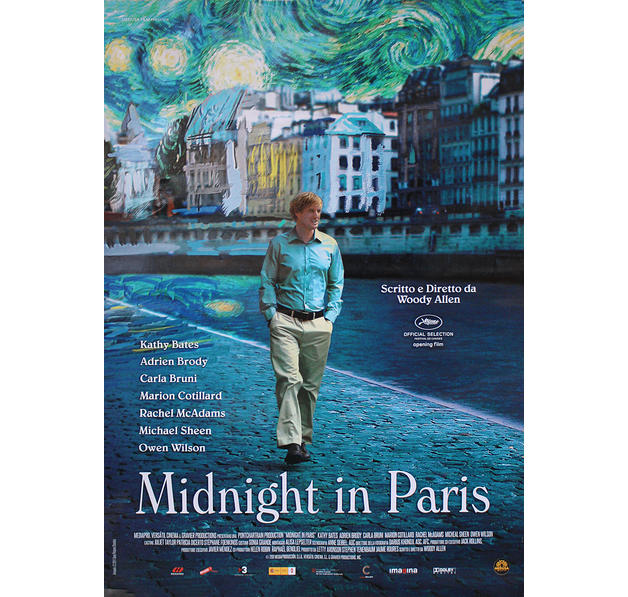 poster midnight in paris posters grand format commandez d s maintenant close up. Black Bedroom Furniture Sets. Home Design Ideas