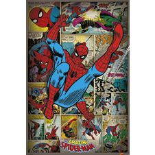 Poster Marvel Spider-Man Retro