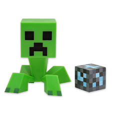 Fgurine Creeper de Minecraft