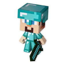 Figurine Diamond Steve de Minecraft