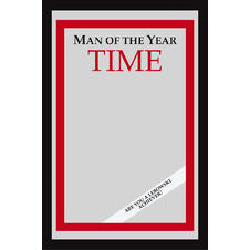 "Miroir ""Man of the Year"" Time Magazine"