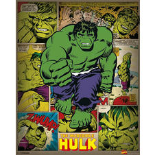 Poster Marvel Incredible Hulk