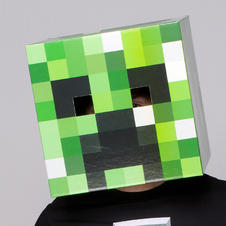 Masque Minecraft