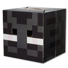 Masque Minecraft Tête Enderman
