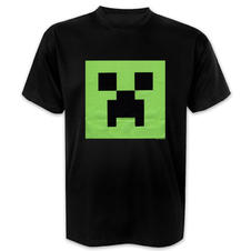 T-shirt Minecraft Creeper