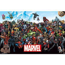 "Poster Marvel ""Line Up 15"""