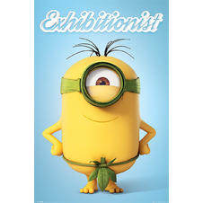 "Poster Minions ""Exhibitionist"""