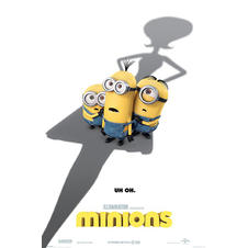 Poster de Minions UH OH.