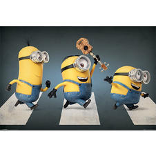 "Poster Minions ""Abbey Road"""