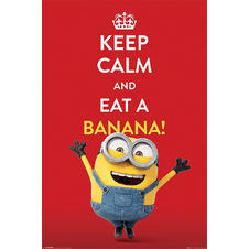 "Poster de Minions ""Keep calm and"