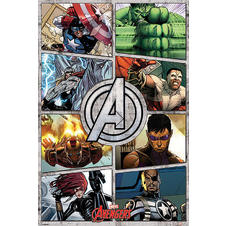 "Poster Marvel ""The Avengers"""
