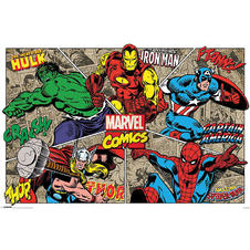 Poster de Marvel Comics