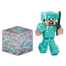 "Figurine Minecraft ""Diamond Steve"""