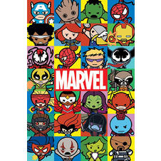 Poster Marvel Kawaii