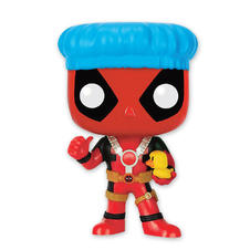 Figurine Pop! Vinyl Marvel Deadpool Tête branlant