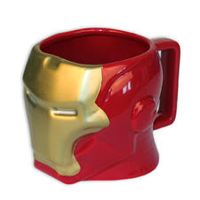 "Tasse Marvel Iron Man ""Casque 3D"""