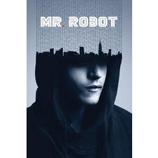 Poster Mr. Robot - Hacked