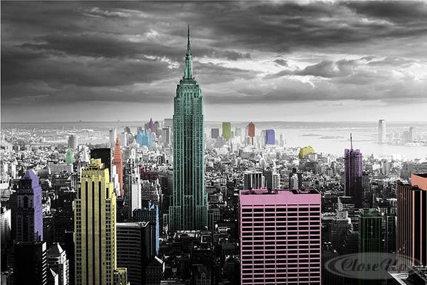 Dco New York : Papiers peints, posters, tableaux New Yorkais
