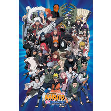 "Poster Naruot ""Personnages"