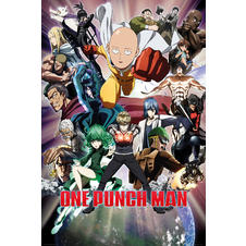 Poster One Punch Man - Collage