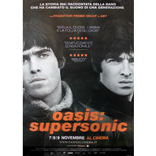 Poster Oasis - Supersonic