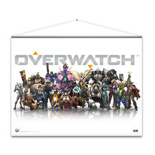 Wall Scroll Overwatch -