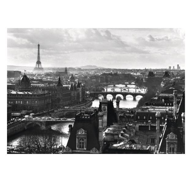 poster paris retro posters grand format commandez d s maintenant close up. Black Bedroom Furniture Sets. Home Design Ideas