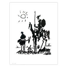 Poster Pablo Picasso Don Quixote (reproduction)