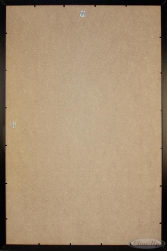 cadre pour poster en plastique noir effet bois grand format 61 x 91 5cm cadres commandez d s. Black Bedroom Furniture Sets. Home Design Ideas