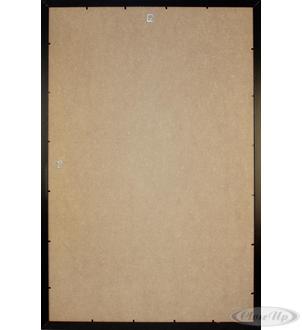 cadre pour poster en plastique noir effet bois grand format 61 x 91 5cm cadres commandez d 232 s