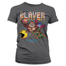 "T-Shirt Pixels Girlie ""PLAYER"""