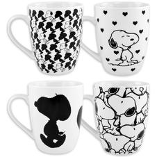 Set de 4 Tasses Peanuts